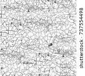 seamless grunge black white.... | Shutterstock . vector #737554498
