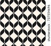 ornamental mesh seamless... | Shutterstock .eps vector #737554696