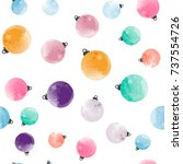 cute different colorful... | Shutterstock .eps vector #737554726