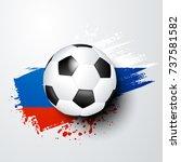 football world or european...   Shutterstock .eps vector #737581582