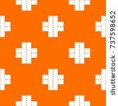 two roads pattern repeat...   Shutterstock .eps vector #737598652