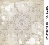 seamless damask  background   Shutterstock .eps vector #73762288