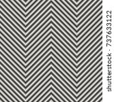 chevron stripes seamless...   Shutterstock .eps vector #737633122