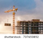 Construction Of A High Rise...
