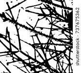 ink print distress background . ... | Shutterstock .eps vector #737675362
