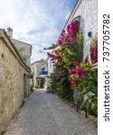 alacati  turkey   october 18 ... | Shutterstock . vector #737705782