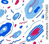 abstract trendy illustration  ... | Shutterstock .eps vector #737713402