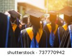 blurred image shot of... | Shutterstock . vector #737770942