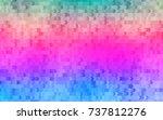 light multicolor  rainbow... | Shutterstock .eps vector #737812276