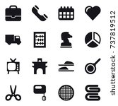 16 vector icon set   portfolio  ...