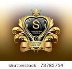 elegant gold heraldry