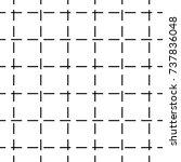 seamless abstract vector... | Shutterstock .eps vector #737836048