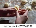 pastry | Shutterstock . vector #737841952