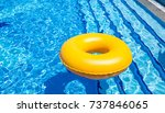 Small photo of floater in pool