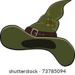 hat of the wizard. cartoon | Shutterstock .eps vector #73785094