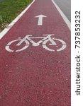 bike path   Shutterstock . vector #737853232