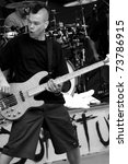 denver    june 10  bassist mark ... | Shutterstock . vector #73786915