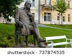 marianske lazne  czechia  ... | Shutterstock . vector #737874535
