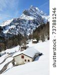 braunwald  switzerland | Shutterstock . vector #737881246