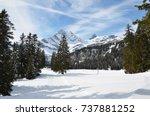 braunwald  switzerland | Shutterstock . vector #737881252