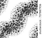 small flowers. seamless pattern ...   Shutterstock .eps vector #737887936