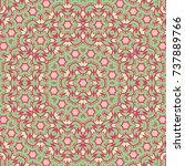 bright ethnic pattern for...   Shutterstock .eps vector #737889766