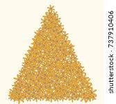 vector confetti background...   Shutterstock .eps vector #737910406