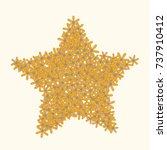 vector confetti background...   Shutterstock .eps vector #737910412