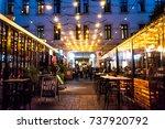 budapest  hungary   17.oct.2017 ... | Shutterstock . vector #737920792