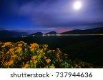 autumn scenery of hehuan... | Shutterstock . vector #737944636