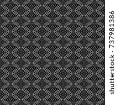 abstract geometric pattern with ... | Shutterstock .eps vector #737981386