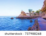 sharm el sheikh  egypt  ... | Shutterstock . vector #737988268