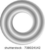 lines in circle form . spiral... | Shutterstock .eps vector #738024142