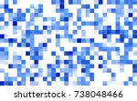 dark blue vector background of... | Shutterstock .eps vector #738048466