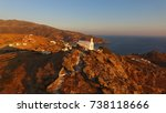 aerial bird's eye view photo... | Shutterstock . vector #738118666