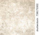 brown designed grunge texture.... | Shutterstock . vector #738173302