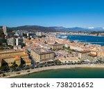 Aerial View Of Ajaccio  Corsic...