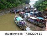 krabi thailand 15 aug 2016.... | Shutterstock . vector #738220612