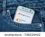 montreal  canada   october 2 ...   Shutterstock . vector #738224422