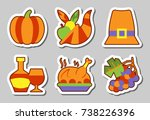 christmas  new year icon... | Shutterstock .eps vector #738226396