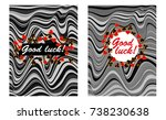 greeting cards vector templates ...   Shutterstock .eps vector #738230638