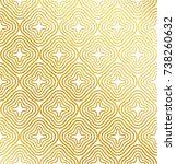 vector geometric gold... | Shutterstock .eps vector #738260632