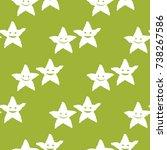 geometric seamless pattern....   Shutterstock .eps vector #738267586