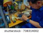 jakarta  indonesia   3 march ...   Shutterstock . vector #738314002