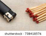 Matches and a lighter. matches. ...