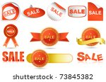 illustration of collection of...   Shutterstock .eps vector #73845382
