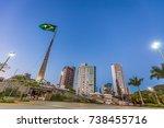 belo horizonte  brazil   12 ... | Shutterstock . vector #738455716