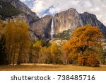 Upper Yosemite Falls From The...