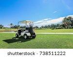 golf carts | Shutterstock . vector #738511222