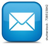 email icon isolated on special... | Shutterstock . vector #738515842